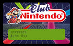 Club Nintendo Card - Vectorized (beta)