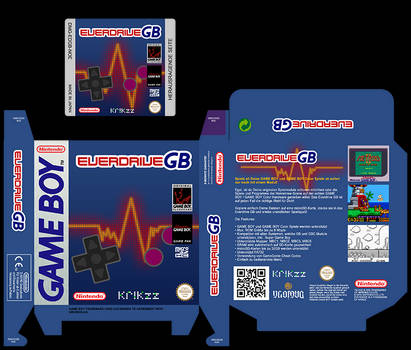 EverdriveGB Custom Label + Box
