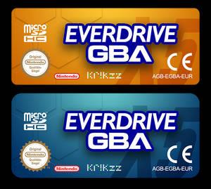 EverdriveGBA Custom Labels
