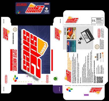 SD2SNES Custom Label + Box