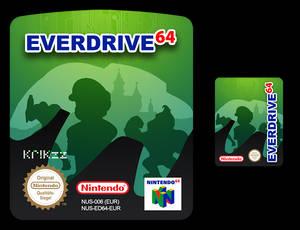 Everdrive64 Custom Label + SD Card Label