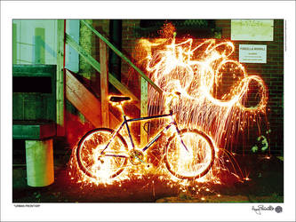Urban Frontier Poster (For Sale) by G-FLIP