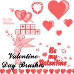 Valentine Day Brushes