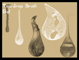 Teardrop Brush Set by Cynthetic