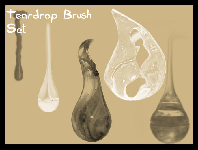 Teardrop Brush Set by Cynthetic