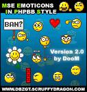 MSE-Emoticons_v2.0 by DoooM