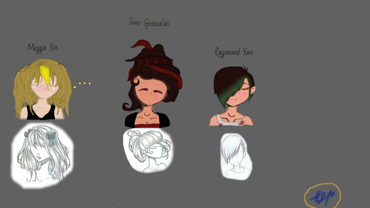 OC's For A Story ^-^ by MeggieLibraYin