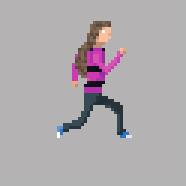Girl 1 Run by RollToNotDie