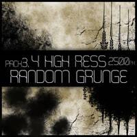 HR Random Grunge Brush Pack 3 by Viuff