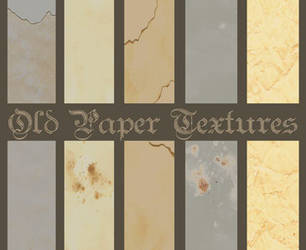 old paper textures by artbyvan