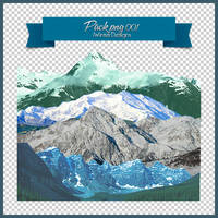Stock Png 001 | Mountains by DAISYPSD