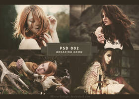 PSD 02: Breaking Dawn by DAISYPSD