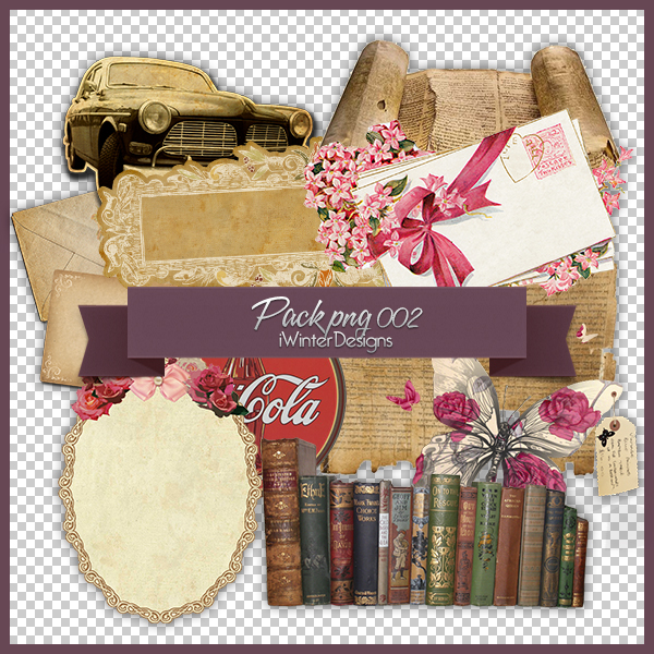 Stock Png 002 | Vintage by DAISYPSD