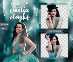 Pack Png 03 - Emilia Clarke by winterdesigns