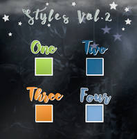 Styles Vol.2 by winterdesigns