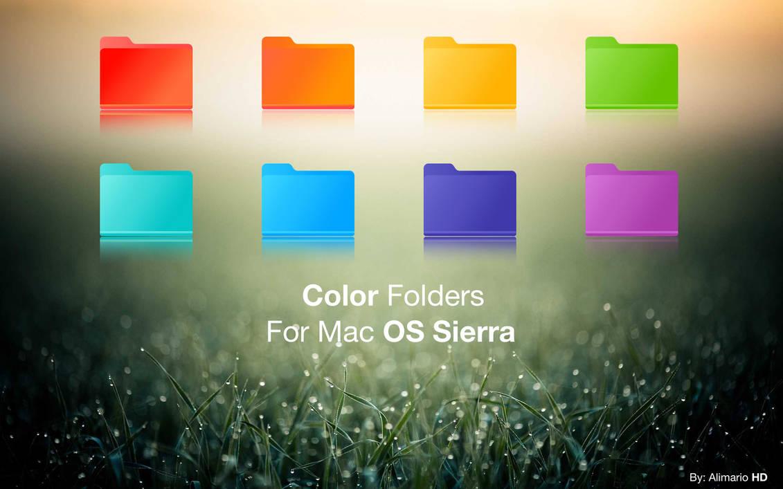 Color Folders | Mac OS Sierra by Alimario on DeviantArt