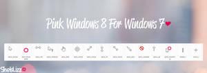 Windows 8 For Windows 7 Pink~ by SheIsLizz
