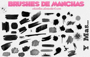 Brushes De Manchas ~~ by SheIsLizz