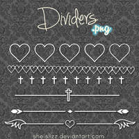 Dividers .png by SheIsLizz