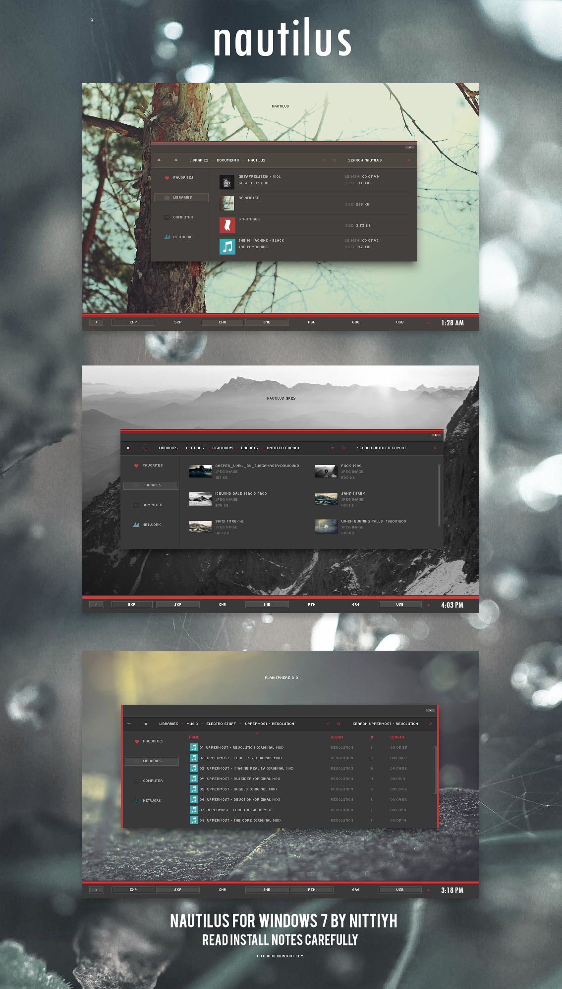 Nautilus for Windows 7 by Nittiyh