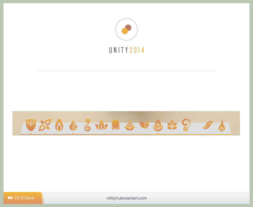 Unity 2014 OS X Dock by Nittiyh