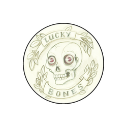 Lucky Bones Pin