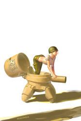 Mini Tank by mavinga