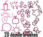 Doodle Brushes Set 3