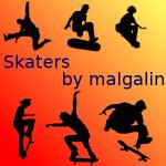 Skater Brushes by malgalin