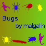 Bug brushes by malgalin