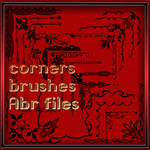 Photoshop brushes corners -1