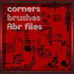 Photoshop brushes corners -2
