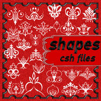 shapes for Photoshop by roula33