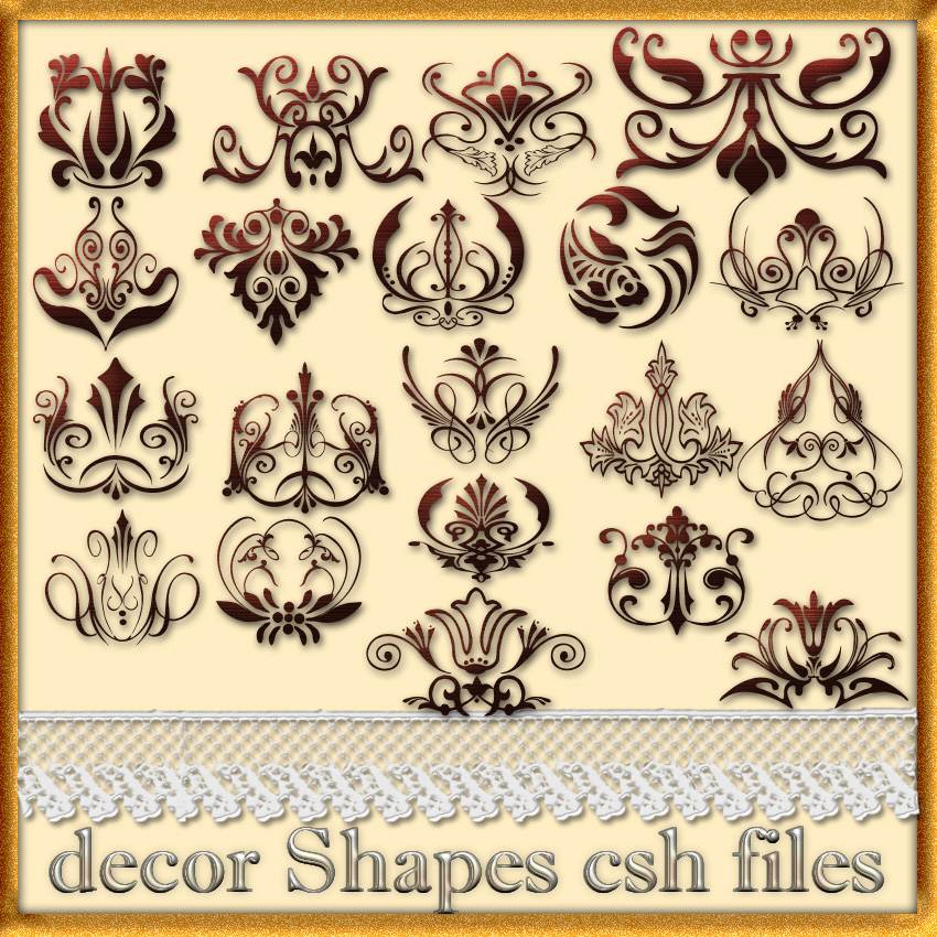 decor Shapes csh