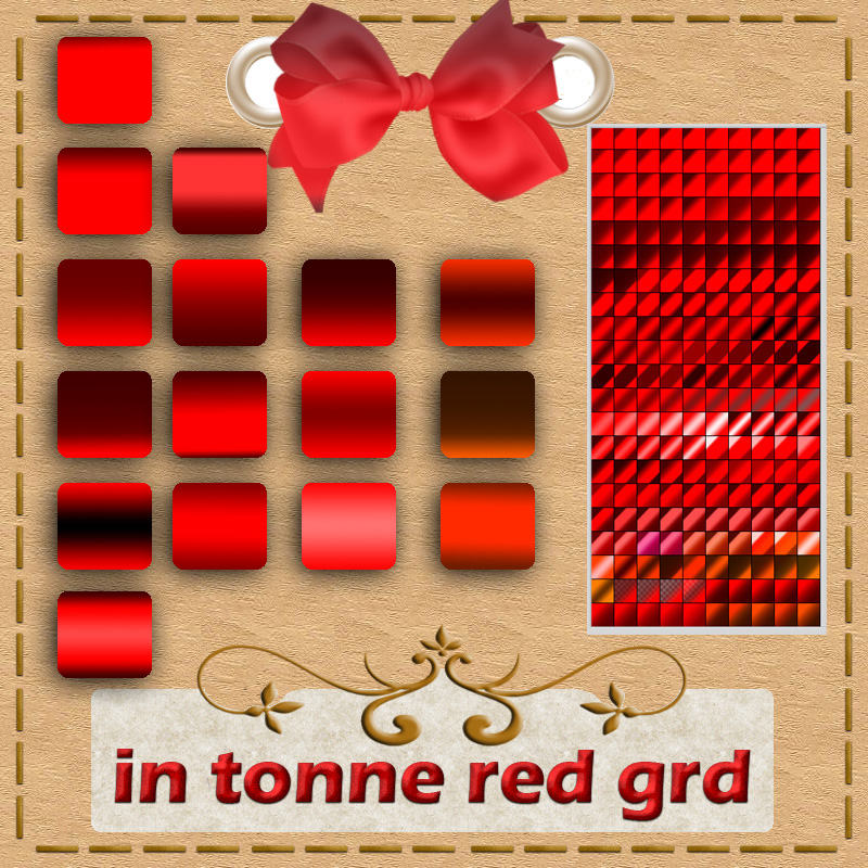 in tonne red