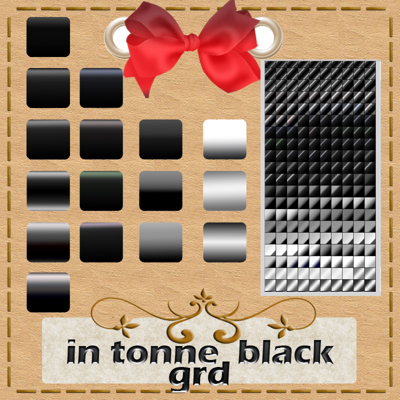 in tonne black