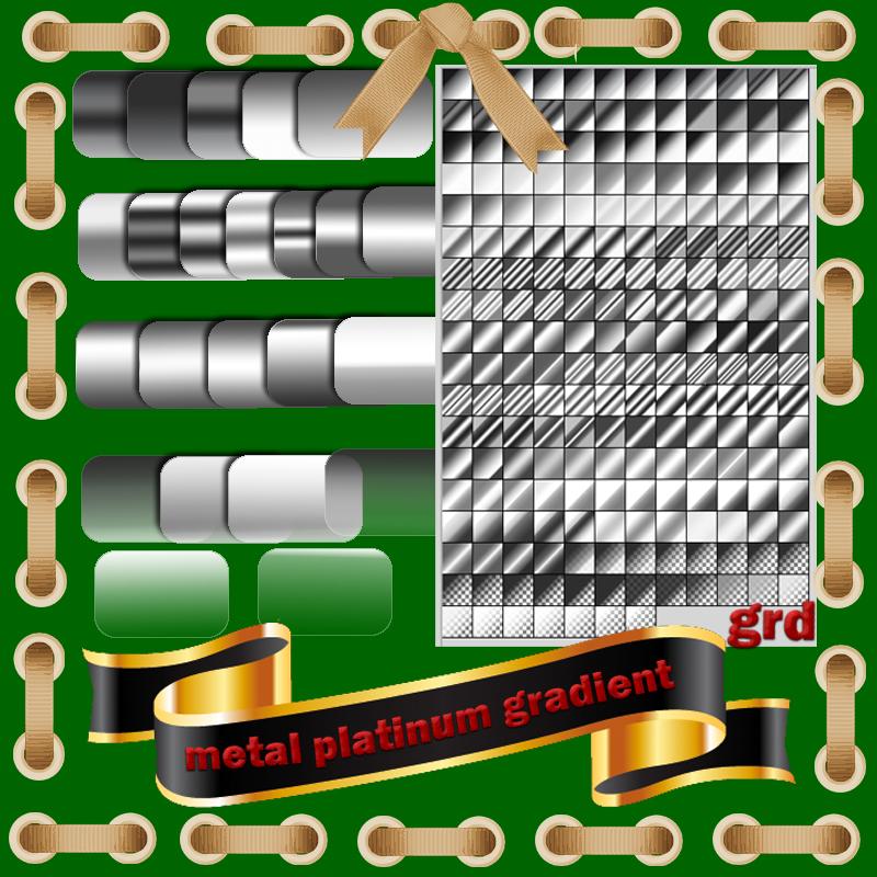gray metal platinum,