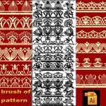 brush of pattern