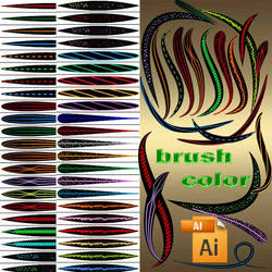 color brushes