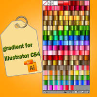 gradient buttons by roula33