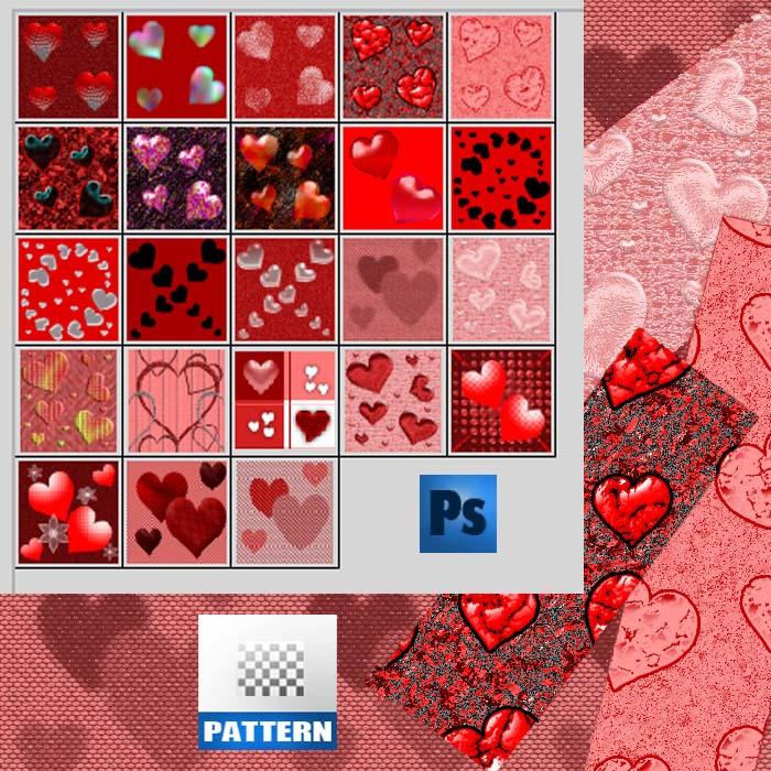 Valentine pattern 2 by roula33