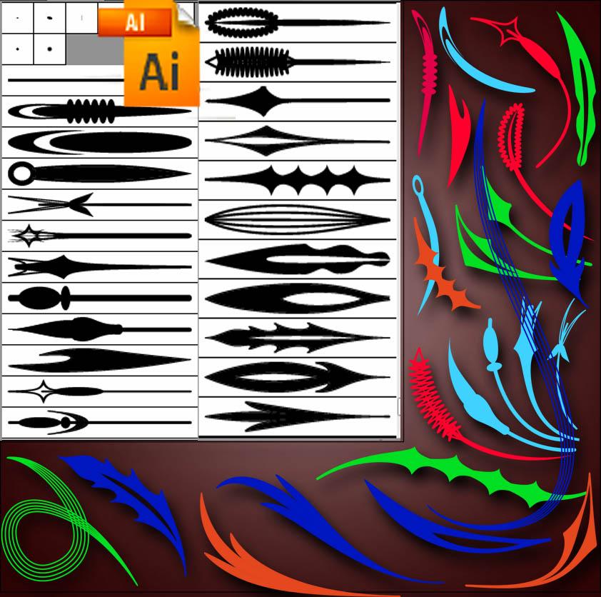 brushes for Illustrator 5
