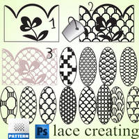 lace creating by roula33
