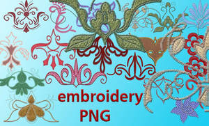 embroidery PNG