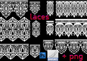 lace brushes by roula33
