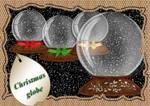 Christmas globe 1