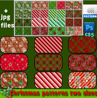 Christmas patterns Nr1  by roula33