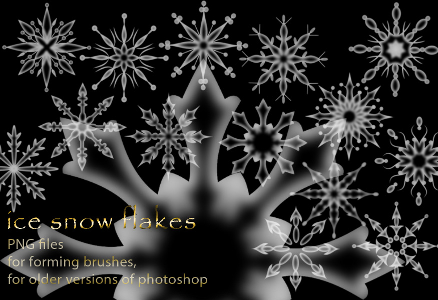 Ice Snow Flakes -1 by roula33