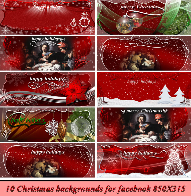Christmas backgrounds A