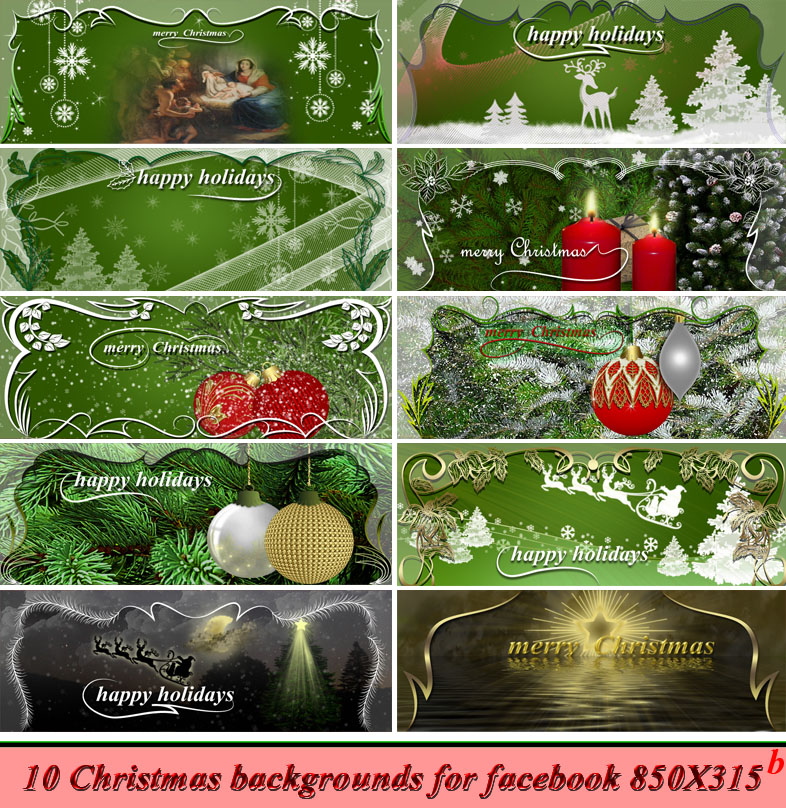Christmas backgroundsb by roula33